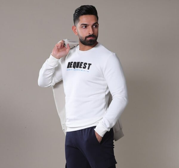 White Sweater for men , Sweaters for men