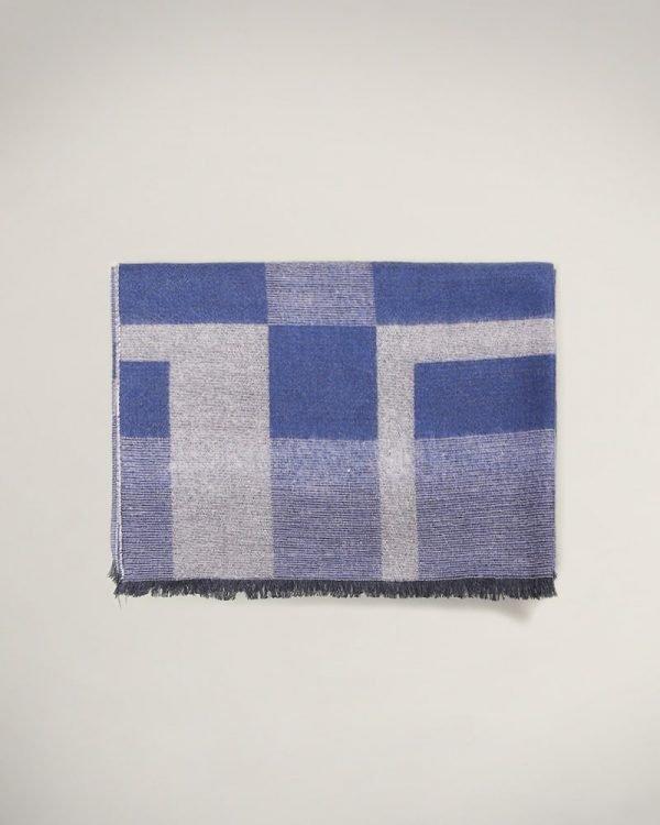 Blue Scarf For men , وشاح للرجال , Scarfs For men, Amazing Gifts For Men, Christmas Gifts for men