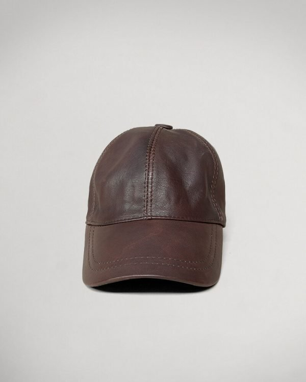 brown leather Hat For men , Leather hats for Men,