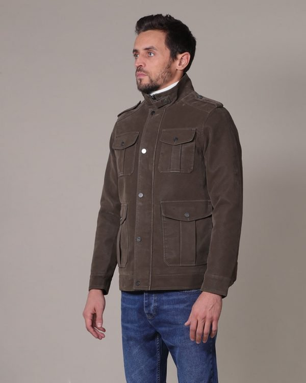 Brown Military jacket for men