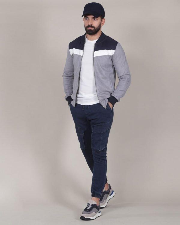denim jogger 3, multi color bomber jacket, Causal Wear For men, Men's Fashion