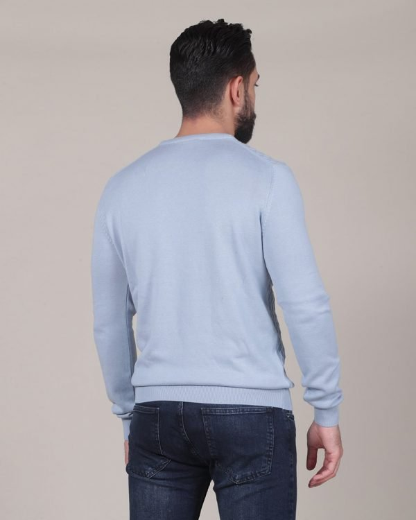 diamond texture blue sweater , Causal Wear for men , Casual Fashion For men