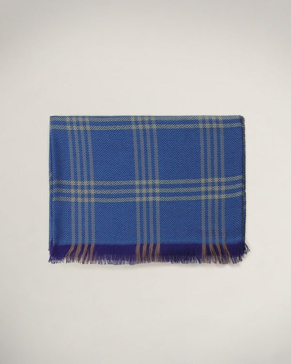 Blue Scarf For men, Amazing Gifts For Men, Christmas Gifts for men