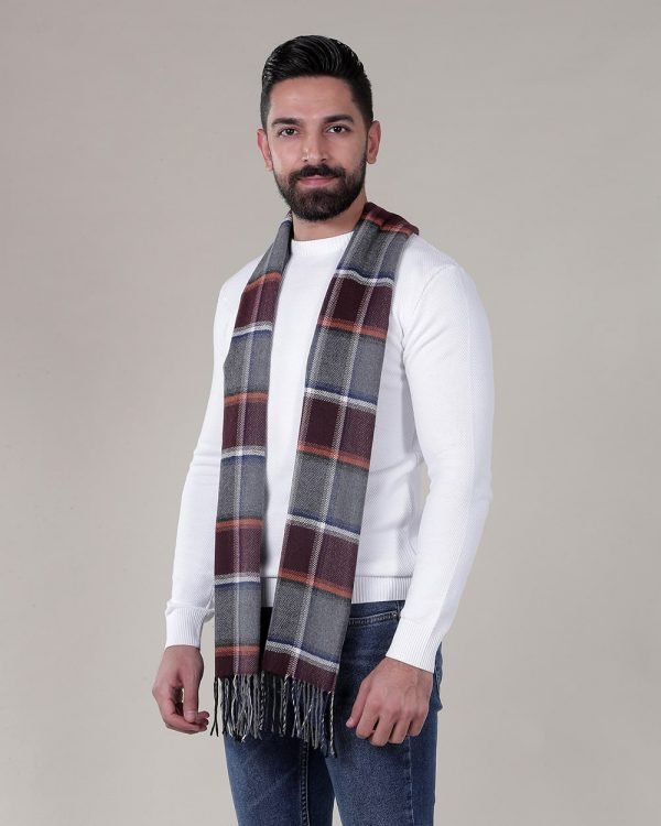 white sweaters for men , Multi Color Scarf for men