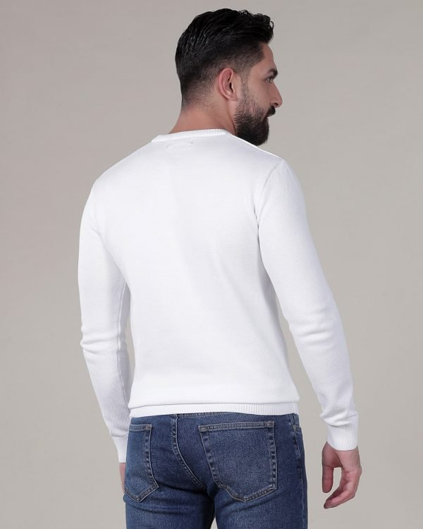 white Sweaters for men