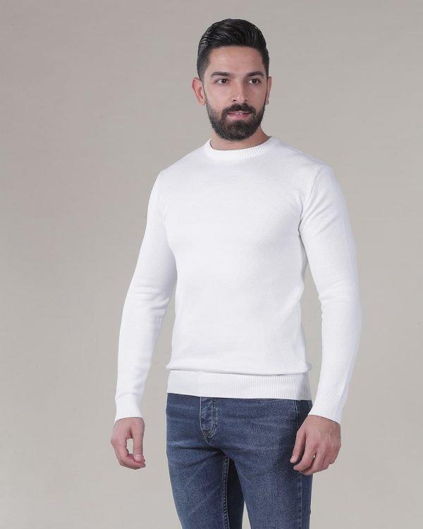 White Sweater for men