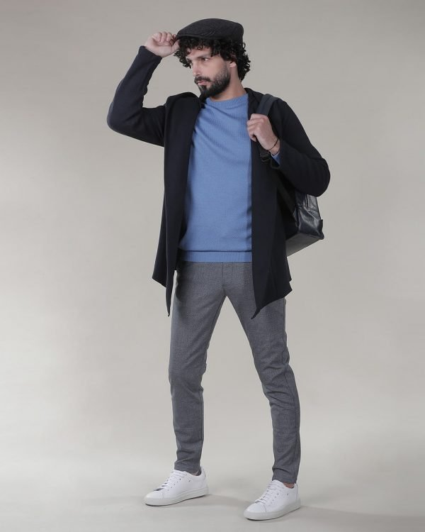 Blue Sweater , Sweaters for men, Cardigans for men,