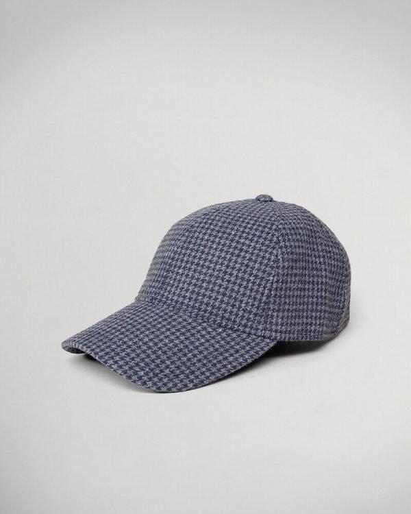grey textured Hat For men