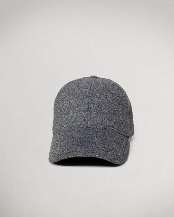 grey wool hat for men
