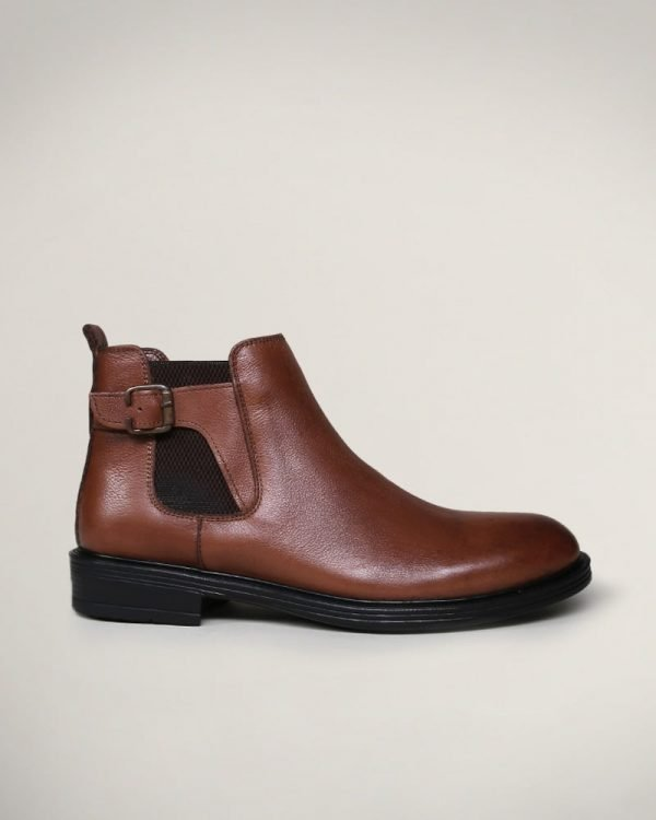 havana buckle ankle boots, Boots For men, Leather boots for men,