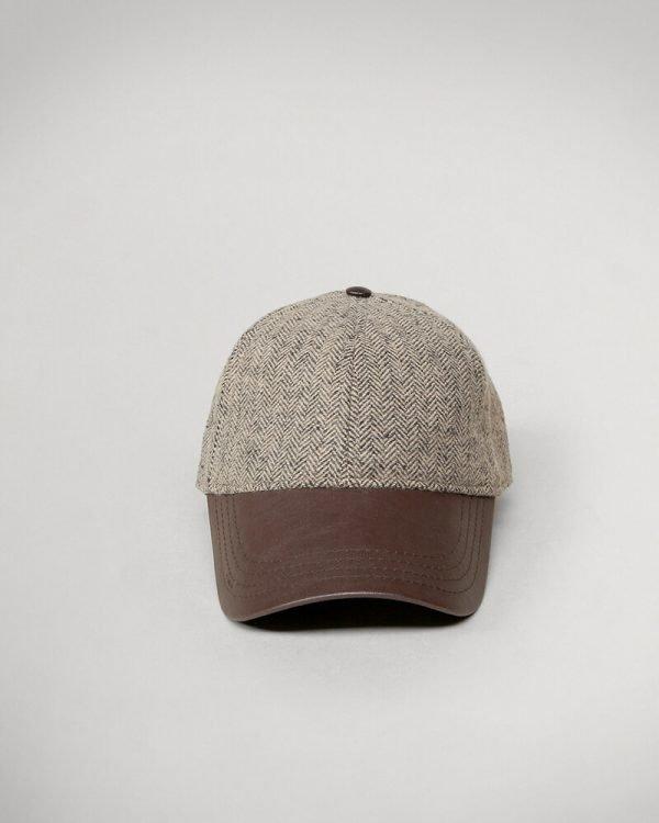 textured Brown cap For men , textured Brown hats for men ,