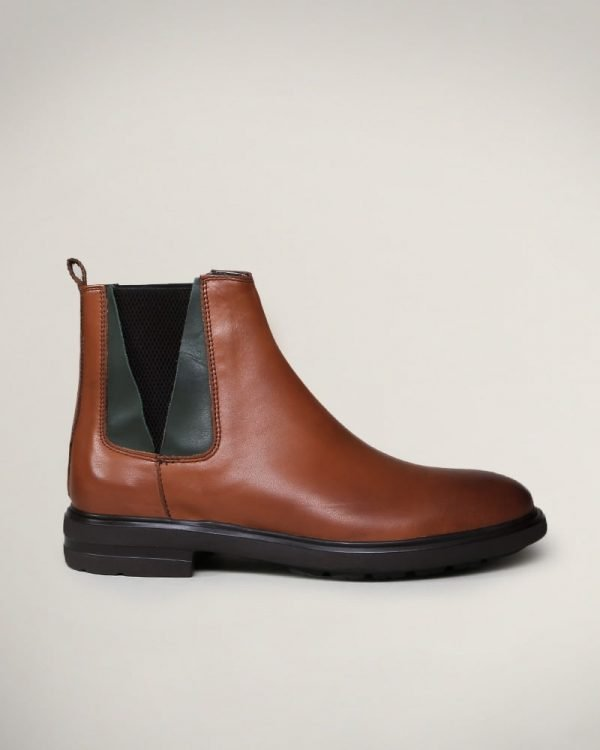 Leather Chelsea boots for men , Leather boots for men ,