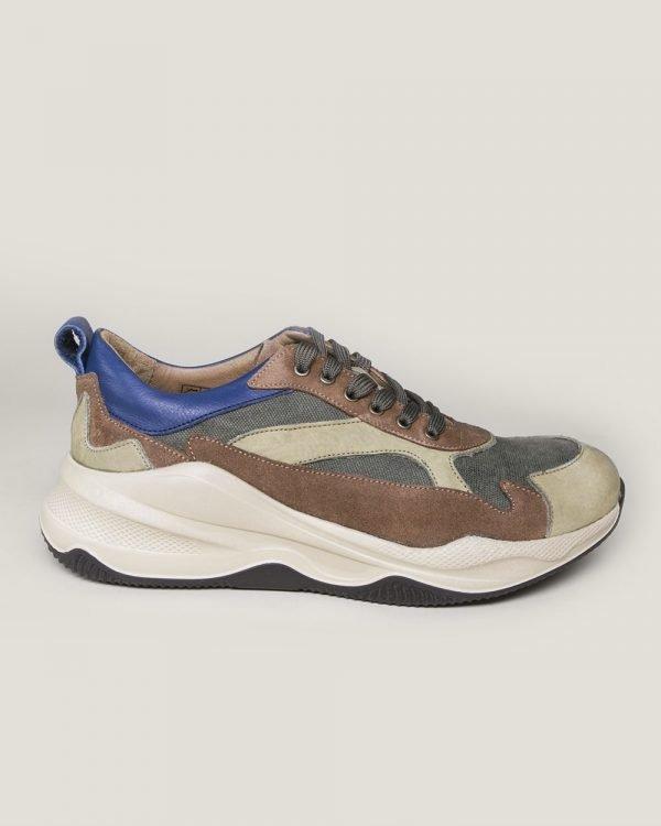 multicolor olive smart trainer , multicolor olive smart shoes for men