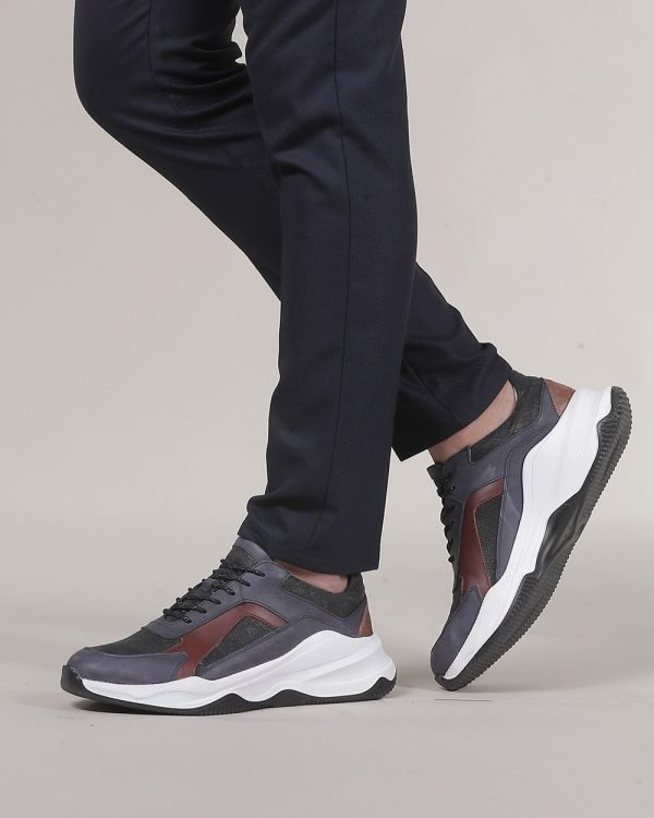 Leather trainers for men ,Causal Fashion for men