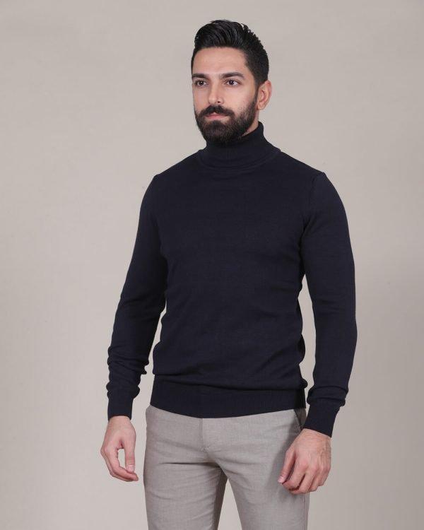Navy Turtle neck For men , Causal Wear For men, Men's Fashion